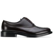 Derby-Schuhe mit Slogan