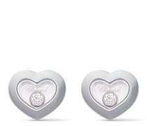 18kt 'Happy Diamonds Icons' Weißgoldohrstecker