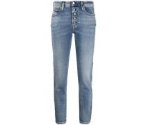 Boyfriend-Jeans mit niedriger Taille