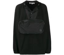 Kapuzenpullover mit aufgesetzter Tasche
