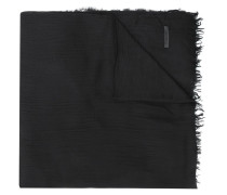 'Kagiso' Schal mit Pelzbesatz