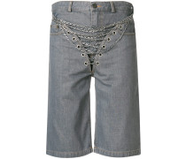 Shorts mit Ketten