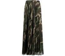 P.A.R.O.S.H. Maxirock mit Camouflage-Print