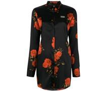 Hemd mit floralem Design