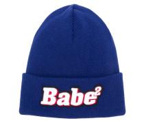 """Wollmütze mit """"Babe""""-Patch"""