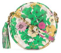 Schultertasche mit floralem Print