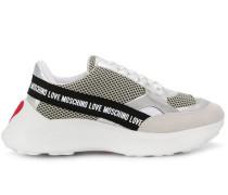 Sneakers mit Logo-Tape