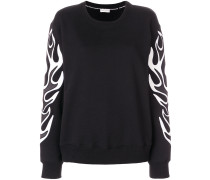 Flame effect sweatshirt