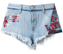 'De-Scotch' Jeans-Shorts