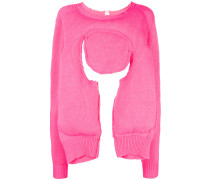 Pullover mit Cut-Out