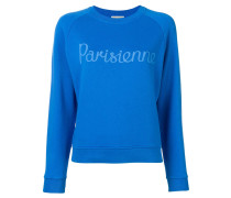 """Sweatshirt mit """"Parisienne""""-Print"""
