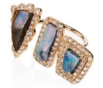 'Boulder 3 Opal' Ring