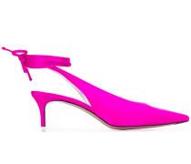 tie ankle pumps
