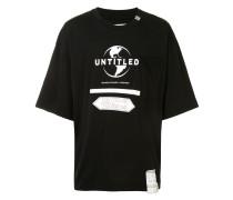 """T-Shirt mit """"Untitled""""-Print"""