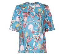 T-Shirt mit Animalia-Print