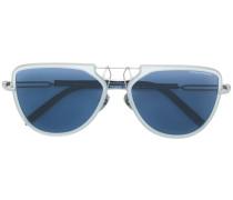 Oversized-Sonnenbrille mit getönten Gläsern