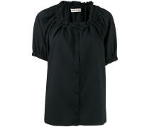 Texturiertes 'Exhale' Hemd