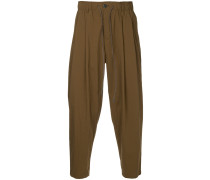 draped casual trousers
