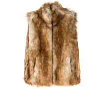 G.V.G.V. Weste mit Faux Fur