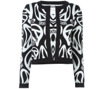 Cardigan mit Peace-Muster