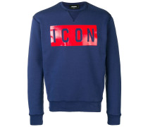 """Jersey-Pullover mit """"Icon""""-Print"""