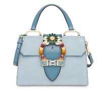 'Miu Lady Madras' Matelassé-Handtasche