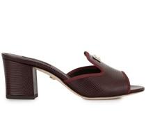Sandalen mit Eidechsen-Effekt