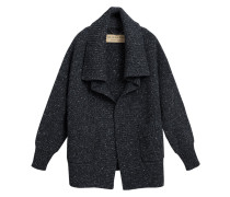 Wool Cashmere Blend Oversized Cardigan
