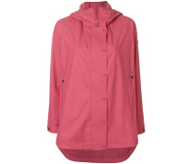 zip up raincoat