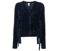 Cardigan mit Glitzer-Finish