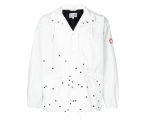 Pixel embroidered jacket