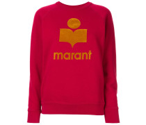 'Milly' Sweatshirt mit Logo-Print