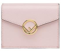logo flap purse