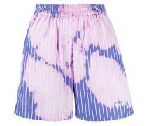 Shorts mit Bleached-Effekt