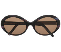 Sonnenbrille mit Print
