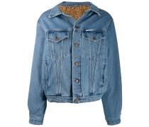 Jeansjacke mit Futter