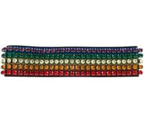 Rainbow crystals headband