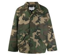 Military-Mantel im Oversized-Design