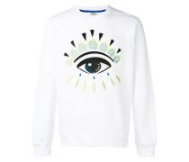 Sweatshirt mit Augenstickerei