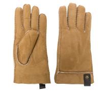 Handschuhe mit Ledereinsatz