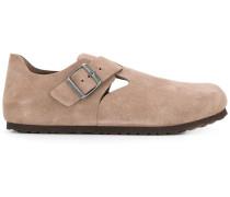Wildleder-Loafer mit Schnalle