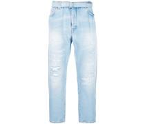 Tief sitzende Jeans