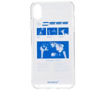 iPhone XS Max-Hülle mit grafischem Print