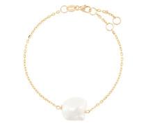 9kt Gelbgoldarmband mit Perlen