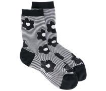 Flora striped socks