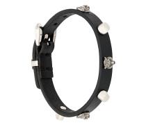 wolf stud bracelet