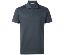 Poloshirt mit Intrecciato-Muster