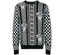 Greek Key print sweatshirt