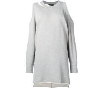 Pulloverkleid mit Cut-Outs