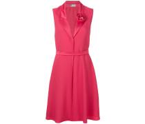 rosette detail dress
